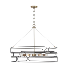Capital 332162AB - 6 Light Pendant