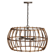 Capital 335742BY - 4 Light Pendant