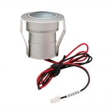 ELK Lighting WLE122C32K-0-95 - Batwing 1-Light Button Light in Matte Aluminum with Frosted Lens - Integrated LED